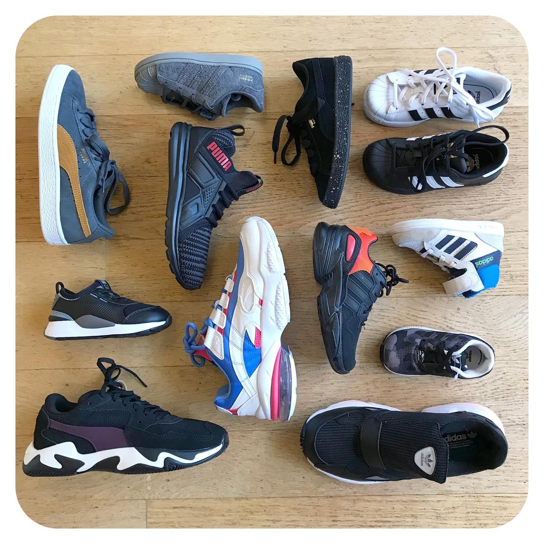 Zaterdag & zondag opruiming van onze sneakers......